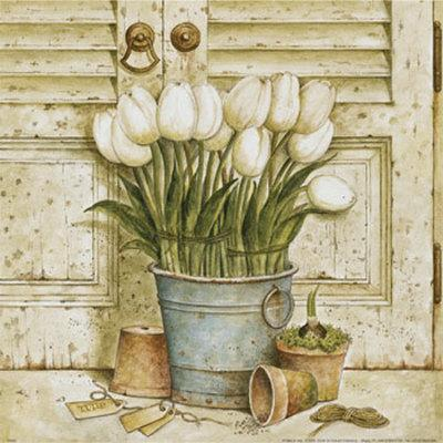 Potted Tulips II