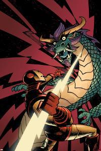 Iron Man: Enter The Mandarin No.5 Cover: Iron Man by Eric Canete