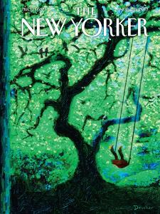 The Eternal Summer - The New Yorker Cover, August 26, 2013 by Eric Drooker