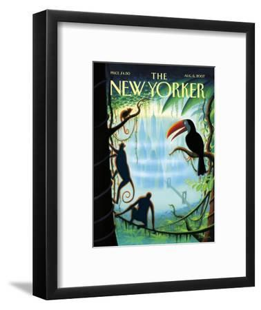 The New Yorker Cover - August 6, 2007