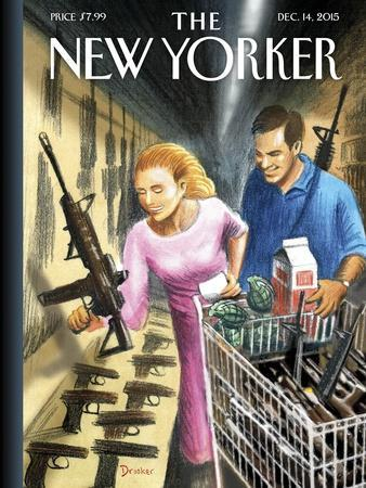 The New Yorker Cover - December 14, 2015