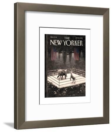 The New Yorker Cover - July 25, 2016