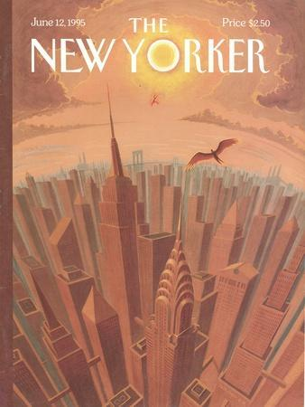 The New Yorker Cover - June 12, 1995