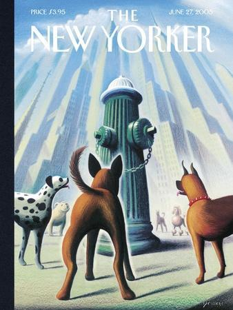 The New Yorker Cover - June 27, 2005