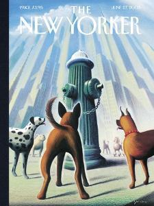 The New Yorker Cover - June 27, 2005 by Eric Drooker