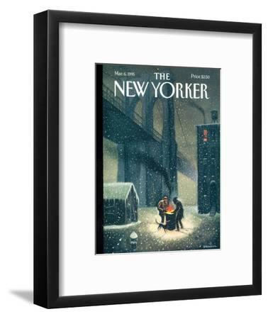 The New Yorker Cover - March 6, 1995