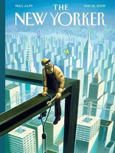 The New Yorker Cover - May 18, 2009 by Eric Drooker