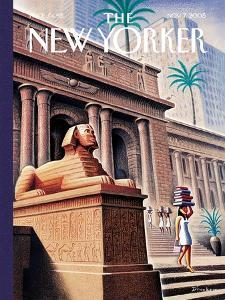 The New Yorker Cover - November 7, 2005 by Eric Drooker