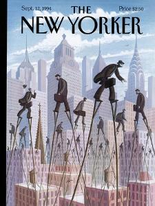 The New Yorker Cover - September 12, 1994 by Eric Drooker