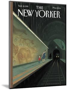The New Yorker Cover - September 18, 1995 by Eric Drooker