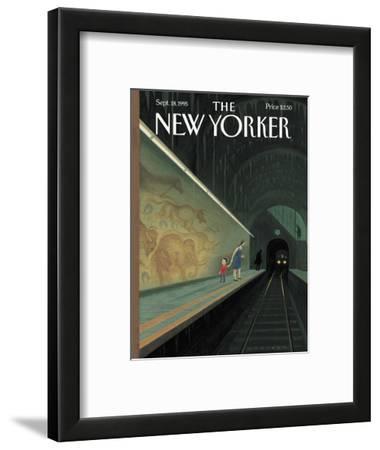 The New Yorker Cover - September 18, 1995