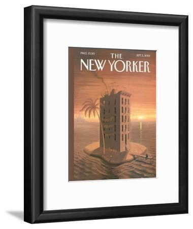 The New Yorker Cover - September 3, 2001
