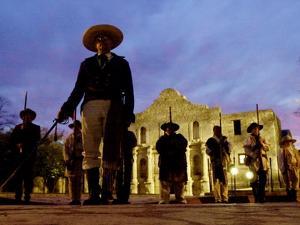 Alamo Memorial Service by Eric Gay