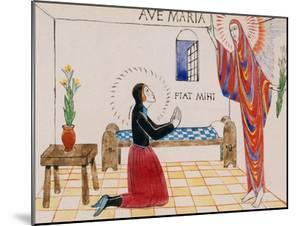 Annunciation, C.1912 by Eric Gill