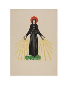 Our Lady of Lourdes by Eric Gill