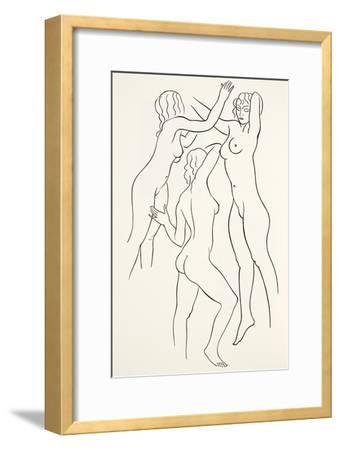 Three Female Nudes, 1938