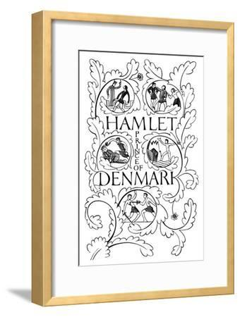 Title Page for Hamlet, 1932