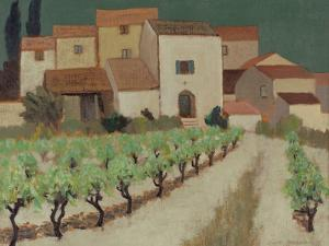 Vineyard, Provence by Eric Hains