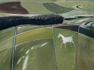 White Horse, Cherhill by Eric Hains