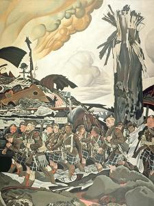 The Conquerors, 1920 by Eric Henri Kennington