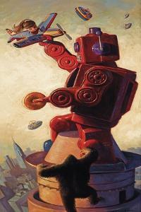 Robo Kong by Eric Joyner