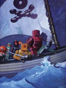 Robo Pirates CMYK by Eric Joyner