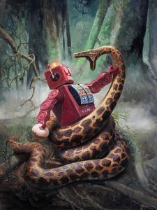 Snakefight by Eric Joyner