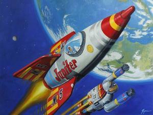 Space Patrol 2 by Eric Joyner