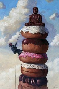Sweet Buddha - Eric Joyner Poster by Eric Joyner