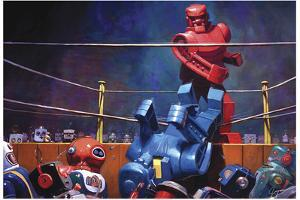 The Final Blow - Eric Joyner Poster by Eric Joyner