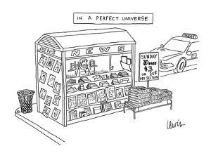 In A Perfect Universe - New Yorker Cartoon by Eric Lewis