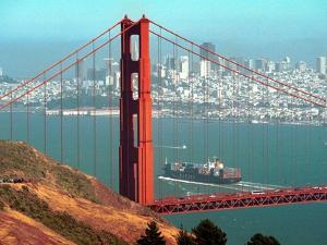 San Francisco Golden Gate Bridge by Eric Risberg