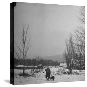 Robert Frost by Eric Schaal