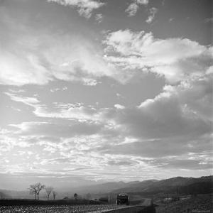 Truck on a Rural Road in Part of the Poor Valley, Home of Folk Music Legends the Carter Family by Eric Schaal