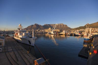 Commercial Docks at the Victoria and Alfred Waterfront, Cape Town