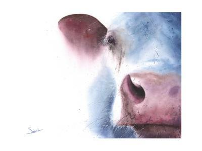 Watercolor Cow by Eric Sweet