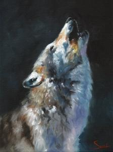 Wolf Howling by Eric Sweet