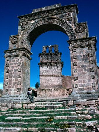 Stone Arch, Juli, Puno, Peru