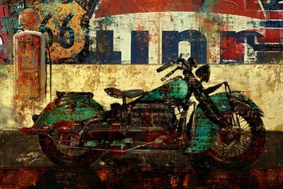 Bike Route 66 I by Eric Yang