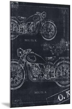Motorcycle Co. Blueprint Black II by Eric Yang