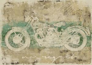 No Regret Motorcycle by Eric Yang