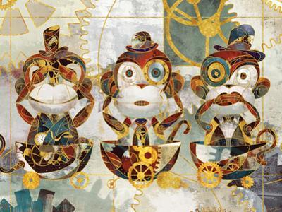 Steampunk Monkeys by Eric Yang