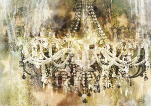 Vintage Crystal Chandelier by Eric Yang