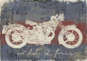 Wild and Free Motorcycle by Eric Yang