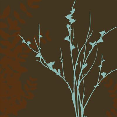 Blue Bough I by Erica J. Vess