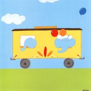 Circus Train III by Erica J^ Vess