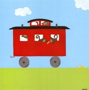 Circus Train IV by Erica J^ Vess