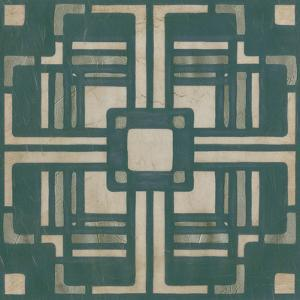 Deco Tile I by Erica J^ Vess