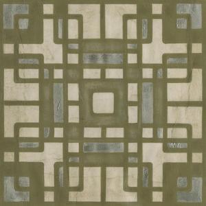 Deco Tile II by Erica J^ Vess