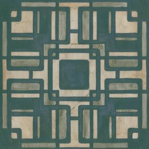 Deco Tile IV by Erica J^ Vess